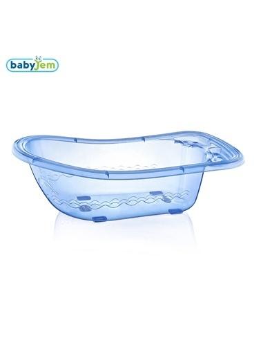 Baby Jem Babyjem Bebek Giderli Büyük Banyo Küveti  Mavi